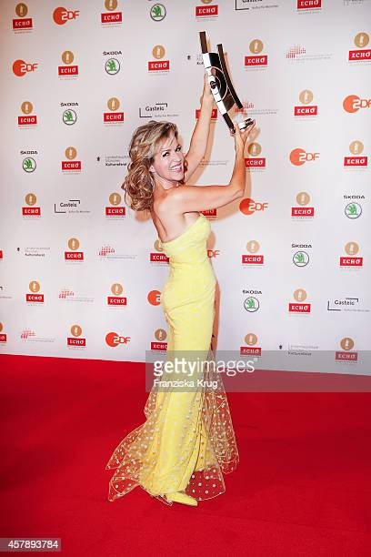 Anne-Sophie Mutter attends the ECHO Klassik 2014 on October 26, 2014 in Munich, Germany.