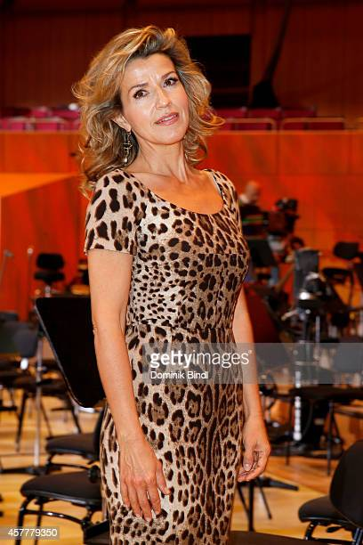 AnneSophie Mutter attends the ECHO Klassik 2014 photo call at Philharmonie on October 24 2014 in Munich Germany