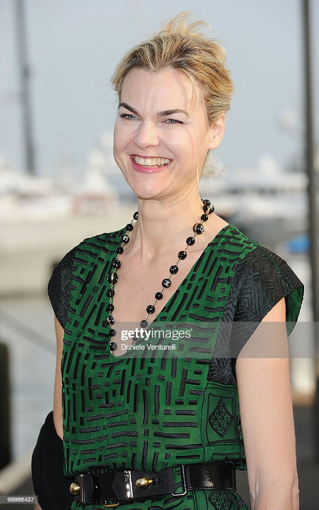 Anne-Sophie von Claer of Le Figaro attend the Fair Game Cocktail Party hosted by Giorgio Armani held aboard his boat 'Main' during the 63rd Annual International Cannes Film Festival on May 19, 2010 in Cannes, France.