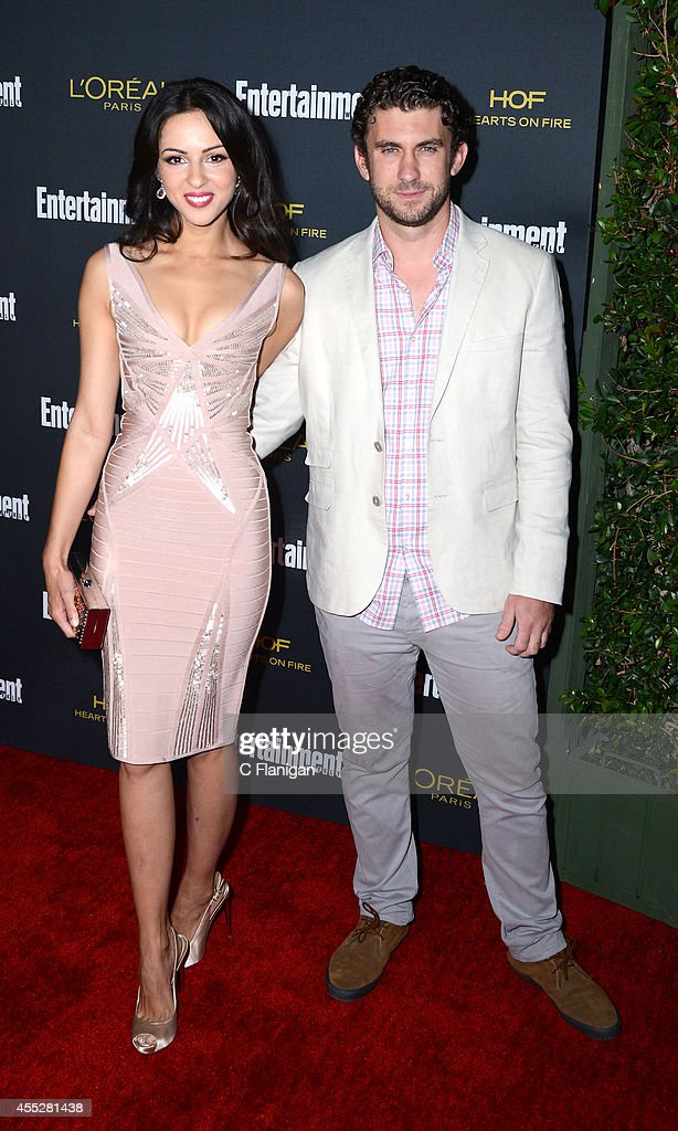 Annet Mahendru and director Lucian Gibson attend the 2014 Entertainment Weekly Pre-Emmy Party at Fig & Olive Melrose Place on August 23, 2014 in West Hollywood, California.