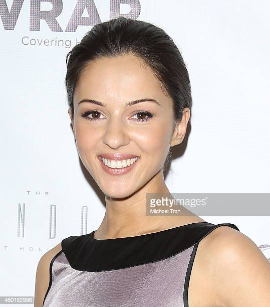 Annet Mahendru arrives at TheWrap's First Annual Emmy Party held at The London West Hollywood on June 5 2014 in West Hollywood California