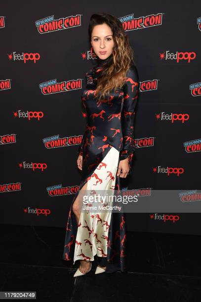 Annet Mahendru attends a panel for AMC's The Walking Dead Universe including AMC's flagship series and the untitled new third series within The...