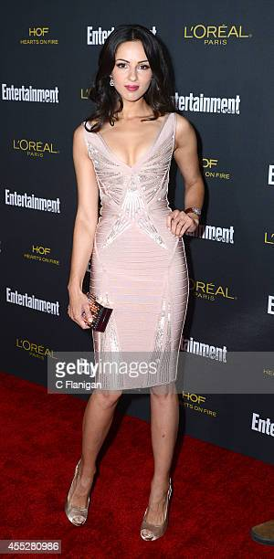 Annet Mahendru attends the 2014 Entertainment Weekly PreEmmy Party at Fig Olive Melrose Place on August 23 2014 in West Hollywood California