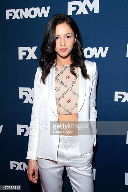 Annet Mahendru attends the 2015 FX Bowling Party at Lucky Strike on April 22 2015 in New York City