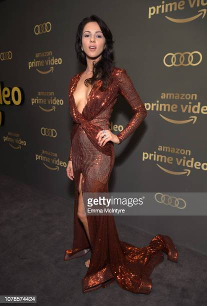 Annet Mahendru attends the Amazon Prime Video's Golden Globe Awards After Party at The Beverly Hilton Hotel on January 6 2019 in Beverly Hills...