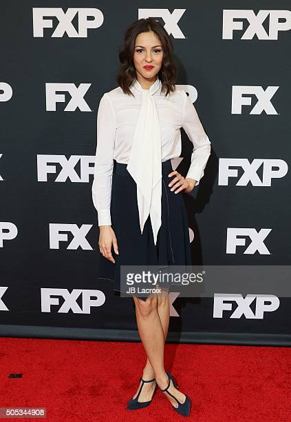 Annet Mahendru attends the FX TCA Winter Press Tour Panel TCA 2016 at the Langham Huntington Hotel on January 16 2016 in Pasadena California