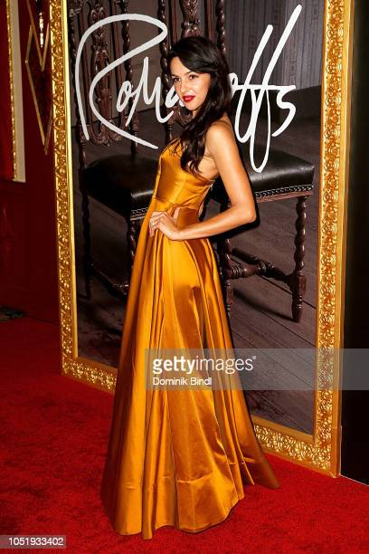 Annet Mahendru attends the premiere of the Amazon Prime Video web TV series 'The Romanoffs' at the Russian Tea Room on October 11 2018 in New York...
