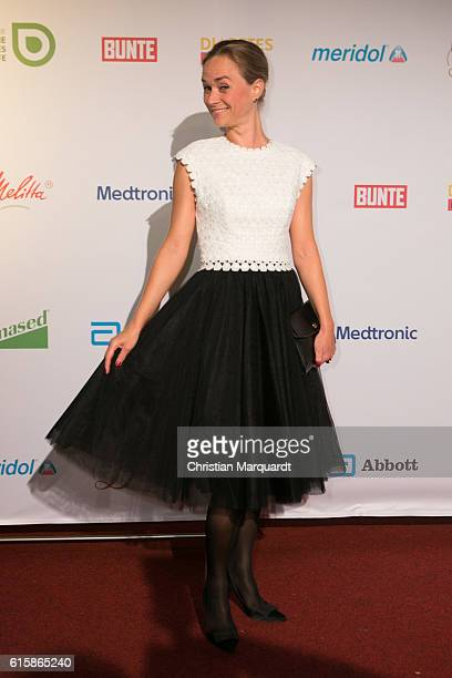 Annett Fleischer attends the 6th Diabetes Charity Gala at TIPI am Kanzleramt on October 20 2016 in Berlin Germany