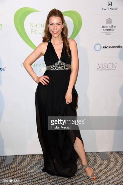 Annett Moeller attends the Leon Heart Foundation Charity Dinner at Hotel Adlon Kempinski on April 20 2018 in Berlin Germany