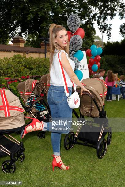 "Annett Moeller during the CYBEX by Karolina Kurkova ""4th of July Fashion BBQ"" at Villa Westend on July 4, 2019 in Berlin, Germany."