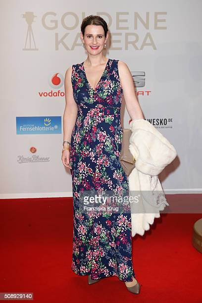 Annett Renneberg attends the Goldene Kamera 2016 on February 6 2016 in Hamburg Germany
