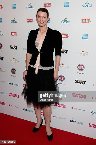 Annett Renneberg poses during the event 'Movie Meets Media' at Hotel Atlantic on December 1 2014 in Hamburg Germany