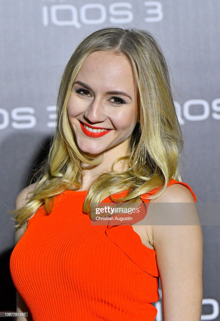 Annetta Negare attends the German premiere of IQOS 3 at