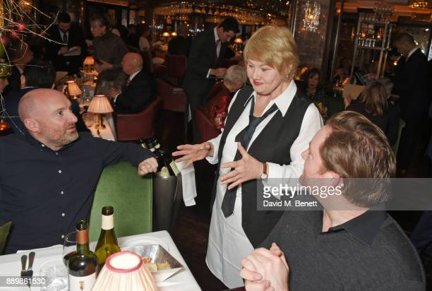 Annette Badland attends 'One Night Only At The Ivy' in aid of Acting for Others on December 10 2017 in London England