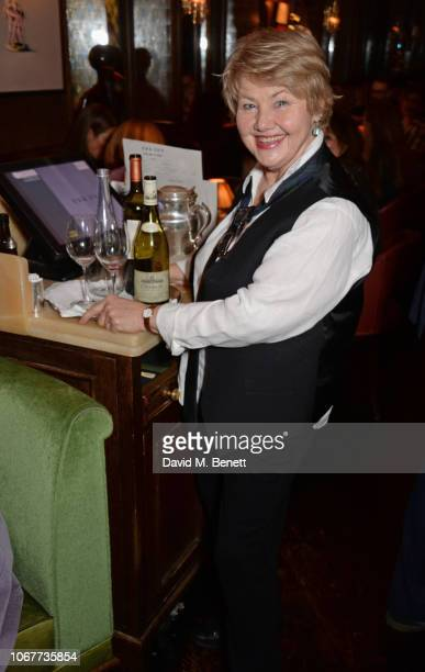 Annette Badland attends the annual 'One Night Only At The Ivy' in aid of Acting For Others on December 2 2018 in London England