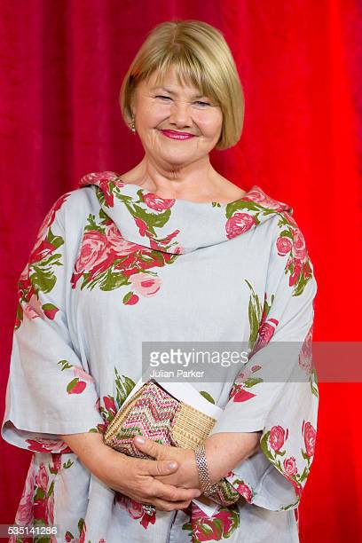 Annette Badland attends the British Soap Awards 2016 at Hackney Empire on May 28 2016 in London England