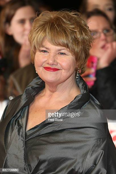 Annette Badland attends the National Television Awards at The O2 Arena on January 25 2017 in London England