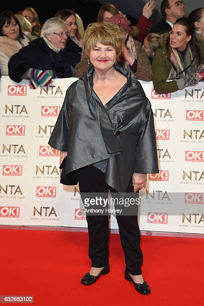Annette Badland attends the National Television Awards on January 25 2017 in London United Kingdom