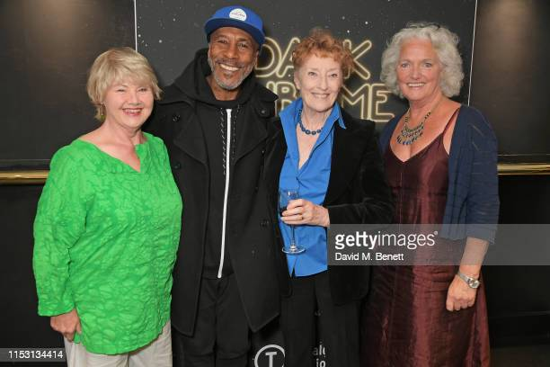 "Annette Badland, Danny John-Jules, Judith Paris and Louise Jameson attend the press night performance of ""Dark Sublime"" at Trafalgar Studios on July..."