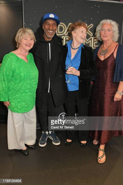 "Annette Badland, Danny John-Jules, Judith Paris and Louise Jamieson attend the press night performance of ""Dark Sublime"" at Trafalgar Studios on July..."