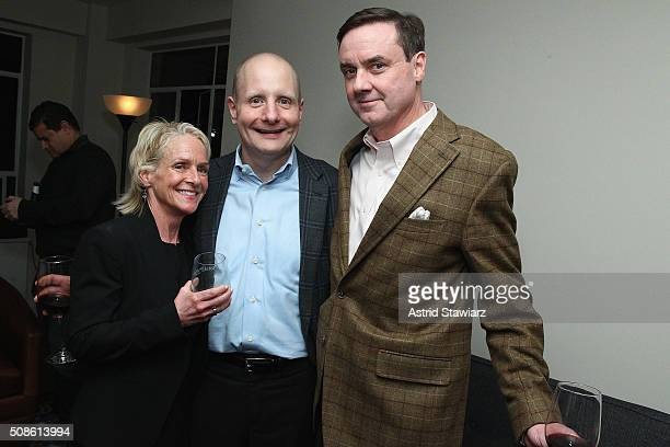 Annette Barnhart Rob Barnhart and Senior Vice President Finance at Hudson's Bay Company Colin Dougherty attend an intimate evening of friends and...