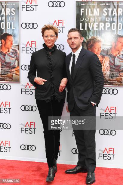 """Annette Bening and Jamie Bell attend AFI FEST 2017 Presented By Audi - Screening Of """"Film Stars Don't Die In Liverpool"""" - Arrivals at TCL Chinese..."""