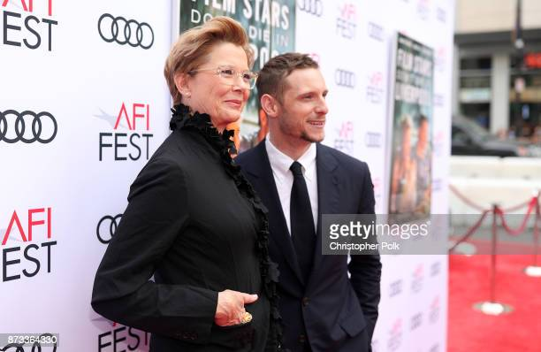 """Annette Bening and Jamie Bell attend the screening of """"Film Stars Don't Die In Liverpool"""" at AFI FEST 2017 Presented By Audi at TCL Chinese Theatre..."""