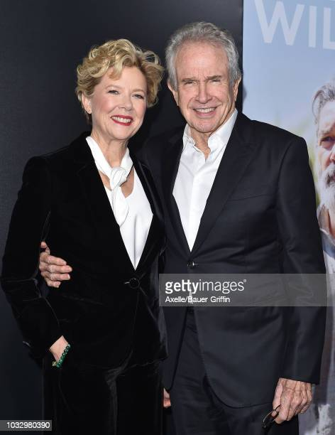 Annette Bening and Warren Beatty arrive at the premiere of Amazon Studios' 'Life Itself' at ArcLight Cinerama Dome on September 13 2018 in Hollywood...