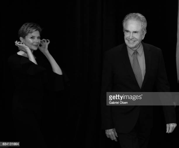 Annette Bening and Warren Beatty attend the 16th Annual AARP The Magazine's Movies For Grownups Awards at the Beverly Wilshire Four Seasons Hotel on...