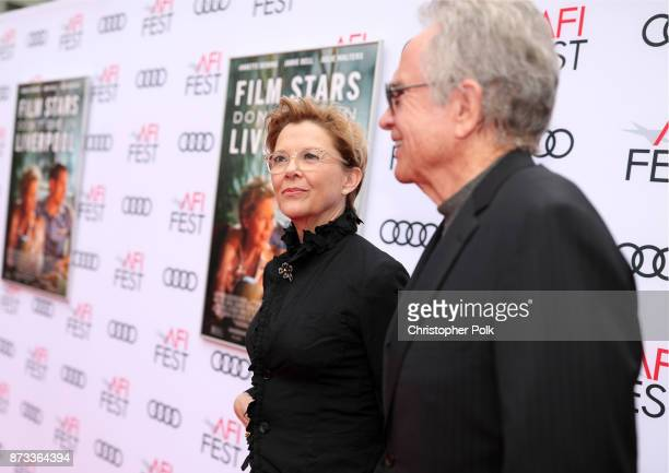 """Annette Bening and Warren Beatty attend the screening of """"Film Stars Don't Die In Liverpool"""" at AFI FEST 2017 Presented By Audi at TCL Chinese..."""