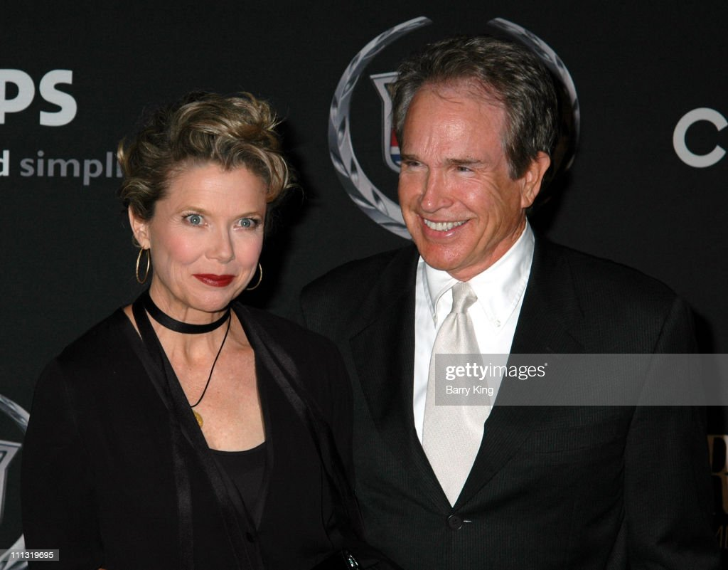 Annette Bening and Warren Beatty during 13th Annual Premiere Women in Hollywood - Arrivals at Beverly Hills Hotel in Beverly Hills, California, United States.