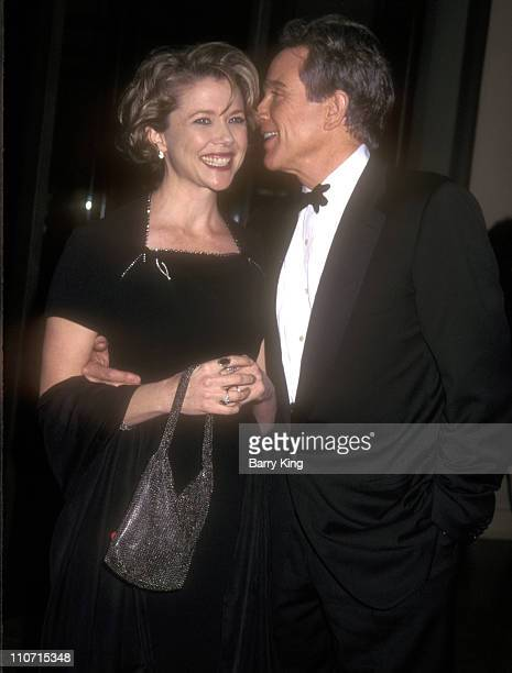 Annette Bening and Warren Beatty during 51st Annual Writers Guild of America Awards at Beverly Hilton Hotel in Beverly Hills California United States