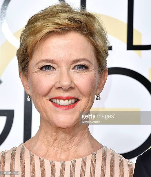 Annette Bening arrives at the 74th Annual Golden Globe Awards at The Beverly Hilton Hotel on January 8 2017 in Beverly Hills California