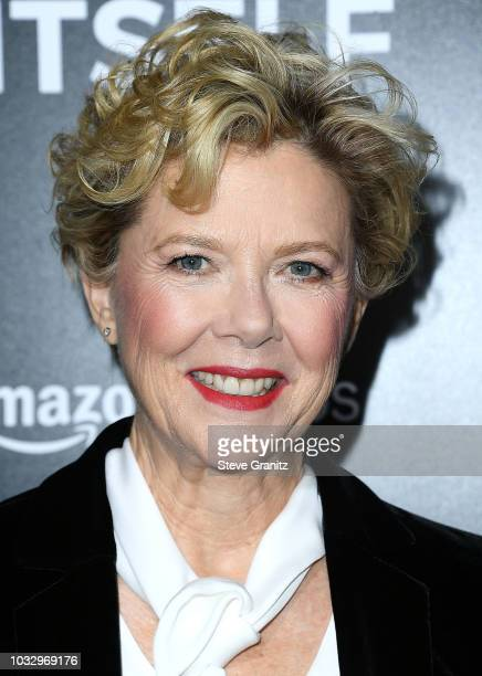 Annette Bening arrives at the Premiere Of Amazon Studios' Life Itself at ArcLight Cinerama Dome on September 13 2018 in Hollywood California