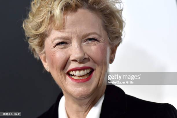 Annette Bening arrives at the premiere of Amazon Studios' 'Life Itself' at ArcLight Cinerama Dome on September 13 2018 in Hollywood California