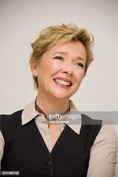 Annette Bening at the '20th Century Women' Press Conference at the Four Seasons Hotel on November 17 2016 in Beverly Hills California