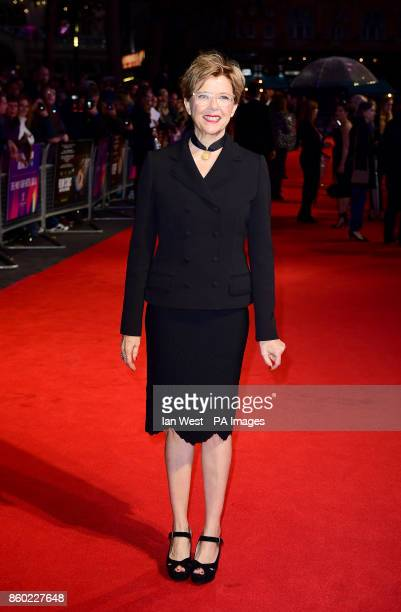 Annette Bening attending the premiere of Film Stars Don't Die In Liverpool as part of the BFI London Film Festival at the Odeon Leicester Square...