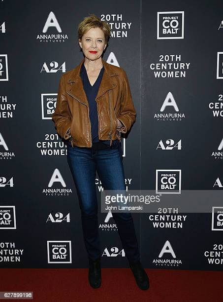 Annette Bening attends '20th Century Women' New York Screening at Florence Gould Hall on December 5 2016 in New York City