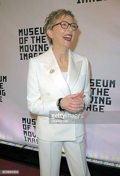 Annette Bening attends 30th annual Museum Of The Moving Image Salute to Warren Beatty at 583 Park Avenue on November 2 2016 in New York City