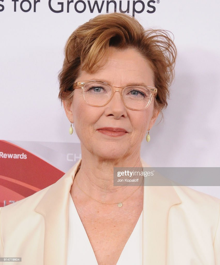 Annette Bening attends AARP's 17th Annual Movies For Grownups Awards at the Beverly Wilshire Four Seasons Hotel on February 5, 2018 in Beverly Hills, California.
