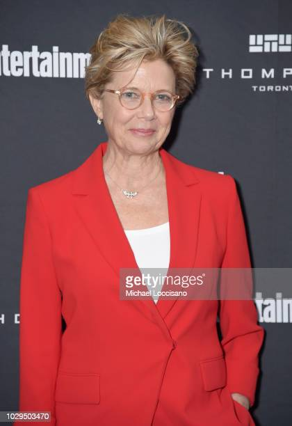 Annette Bening attends Entertainment Weekly's Must List Party at the Toronto International Film Festival 2018 at the Thompson Hotel on September 8...