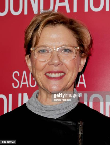 Annette Bening attends SAGAFTRA Foundation's conversation and screening of 'Film Stars Don't Die In Liverpool' at SAGAFTRA Foundation Screening Room...