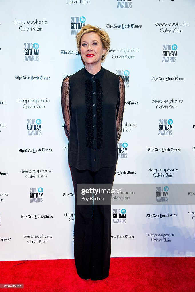 Annette Bening attends the 26th Annual Gotham Independent Film Awards at Cipriani Wall Street on November 28, 2016 in New York City.