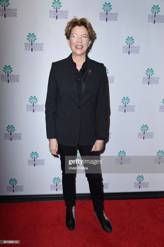 Annette Bening attends the 29th Annual Palm Springs International Film Festival Saturday Film Screenings on January 6, 2018 in Palm Springs, California.