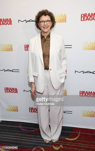 Annette Bening attends the 85th Annual Drama League Awards at the Marriott Marquis Times Square on May 17 2019 in New York City