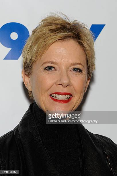 Annette Bening attends the 92Y Reel Pieces Presents Annette Bening Mike Mills And '20th Century Women' at 92nd Street Y on December 6 2016 in New...