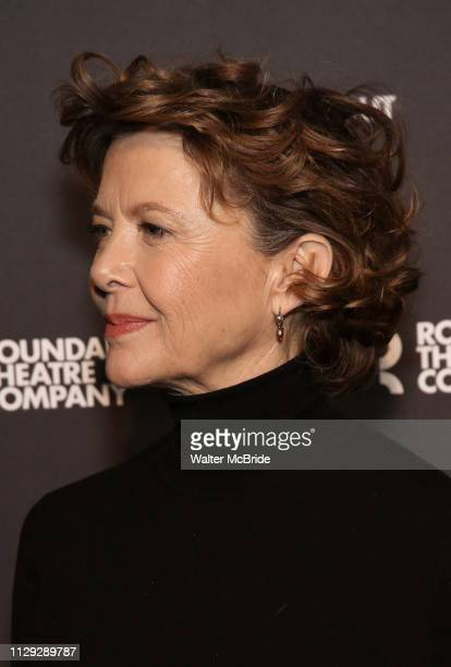 Annette Bening attends the 'All My Sons' cast photo call at the American Airlines Theatre on March 8 2019 in New York City
