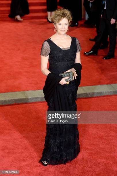 Annette Bening attends the EE British Academy Film Awards held at Royal Albert Hall on February 18 2018 in London England