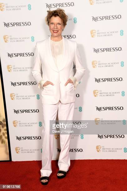 Annette Bening attends the EE British Academy Film Awards nominees party at Kensington Palace on February 17 2018 in London England