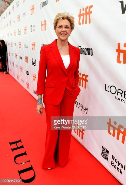 Annette Bening attends the 'Life Itself' premiere during 2018 Toronto International Film Festival at Roy Thomson Hall on September 8 2018 in Toronto...